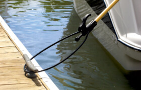 The Boat Loop grabs cleats or railings with ease.